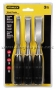 STANLEY 16-089 3PC WOOD CHISEL