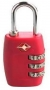 TSA COMBINATION LUGGAGE TRAVEL PADLOCK